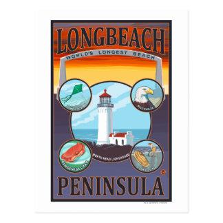 Cartão Postal Long Beach, WashingtonTravel