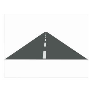 Cartão Postal Longo caminho