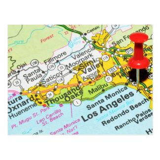 Cartão Postal Los Angeles, Califórnia