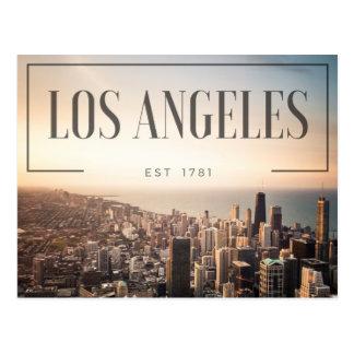 Cartão Postal Los Angeles - Est 1781