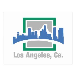 Cartão Postal Los Angeles, skyline do CA