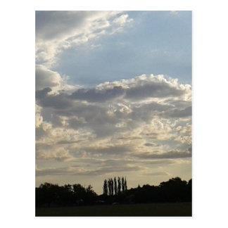 Cartão Postal Lotes das nuvens