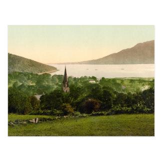 Cartão Postal Lough de Carlingford, condado para baixo