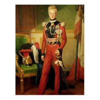 Cartão Postal Louis-Charles-Philippe do duque de Orleans de