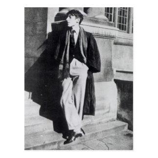 Cartão Postal Louis MacNeice durante seu tempo em Oxford