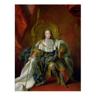 Cartão Postal Louis XV 1723
