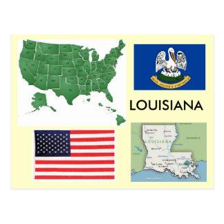 Cartão Postal Louisiana, EUA