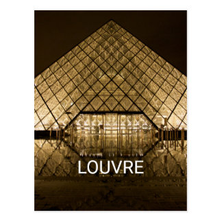 Cartão Postal Louvre, Paris/France