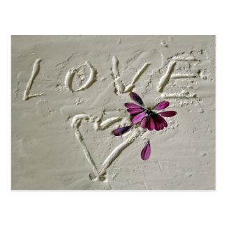 Cartão Postal Love
