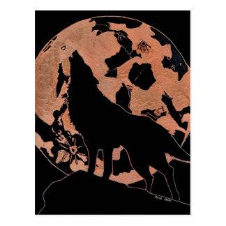 Cartão Postal Lua do lobo