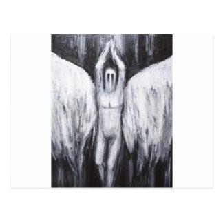 Cartão Postal Lucifer a estrela da manhã que desce ao abismo
