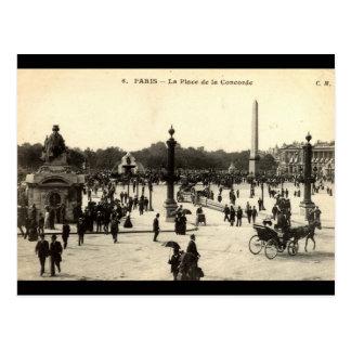Cartão Postal Lugar Castellane do La, vintage 1910 de Marselha