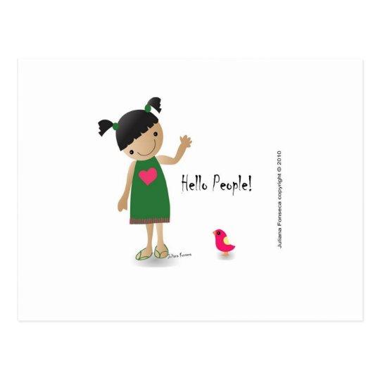 Cartão Postal Lully  postal