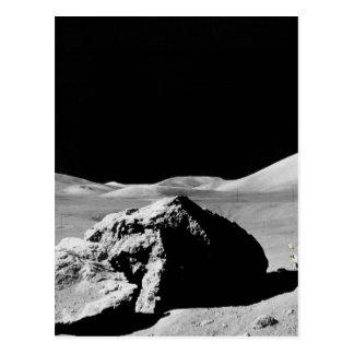 Cartão Postal Lunar superfície
