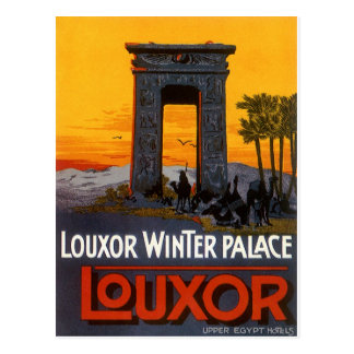 Cartão Postal Luxor Egipto