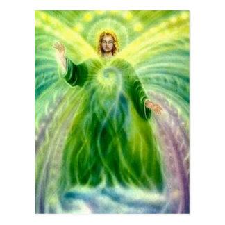 Cartão Postal Luz cura de Raphael do arcanjo