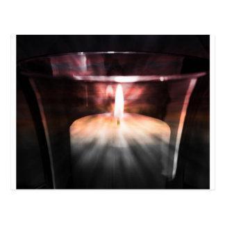 Cartão Postal Luz da vela