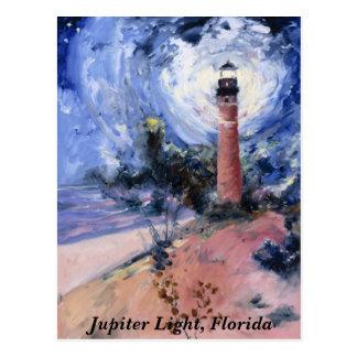 Cartão Postal Luz de Jupiter, Fl