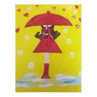 Cartão Postal Luz do sol em um dia chuvoso