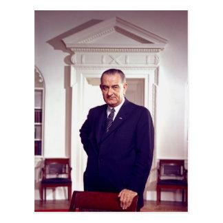 Cartão Postal Lyndon B Johnson