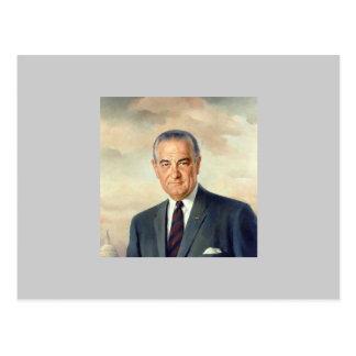 Cartão Postal Lyndon B. Johnson