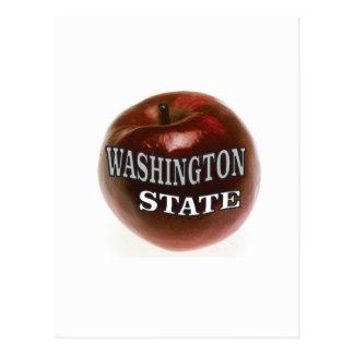 Cartão Postal Maçã do vermelho do estado de Washington