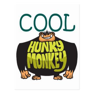 Cartão Postal Macaco Hunky legal