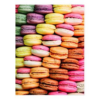 Cartão Postal Macaron francês