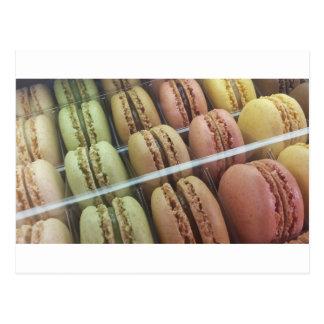 Cartão Postal Macarons abundante