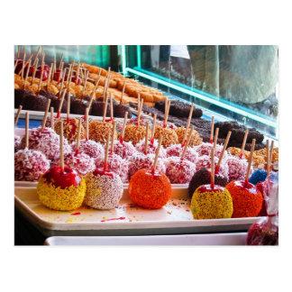 Cartão Postal Maçãs de doces - Coney Island, NYC