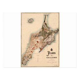 Cartão Postal macau1889