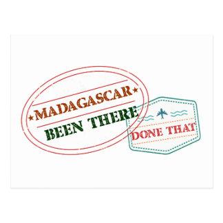 Cartão Postal Madagascar feito lá isso