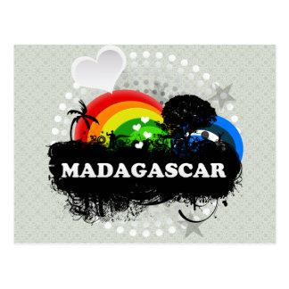 Cartão Postal Madagascar frutado bonito