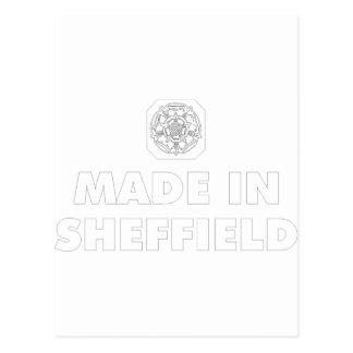Cartão Postal madeinsheffield