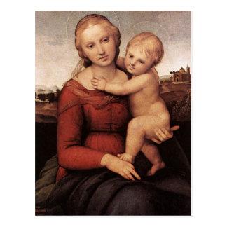 Cartão Postal Madonna bonito de Raphael