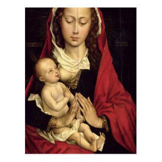 Cartão Postal Madonna e criança