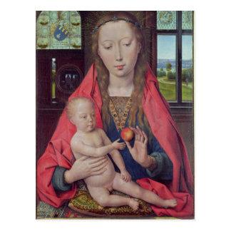 Cartão Postal Madonna e criança 2