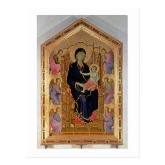 Cartão Postal Madonna e criança (Rucellai Madonna) 1285 (tempera