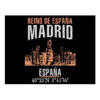 Cartão Postal Madrid