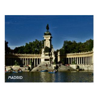 Cartão Postal Madrid - EL Retiro de Parque