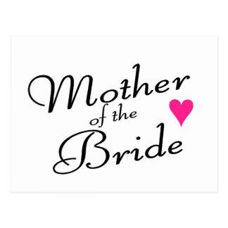 Cartão Postal Mãe da noiva
