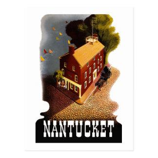 Cartão Postal MÃES de Nantucket Massachusetts das viagens