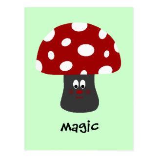 Cartão Postal Mágica de Mushroon