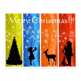 Cartão Postal Mágica do Natal