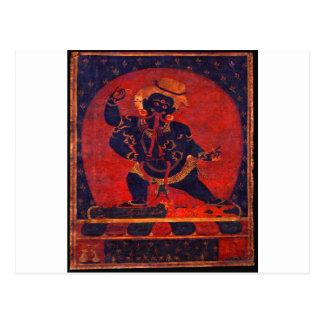 Cartão Postal Mahakala, século XII