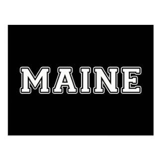 Cartão Postal Maine