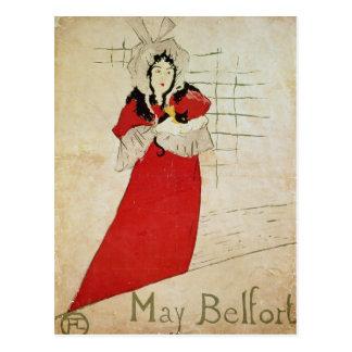 Cartão Postal Maio Belfort, France, 1895