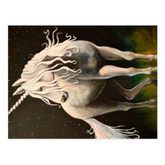 Cartão Postal Majestade o Unicorn.