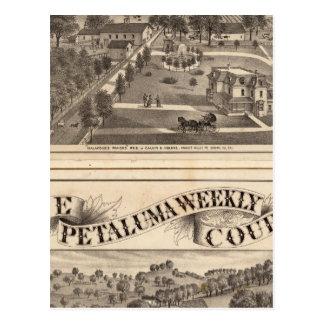 Cartão Postal Malacomes Rancho