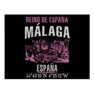 Cartão Postal Málaga